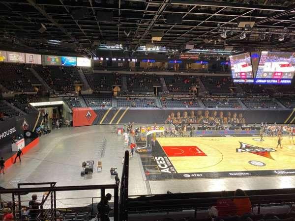 Michelob Ultra Arena, sección: 205, fila: G, asiento: 6