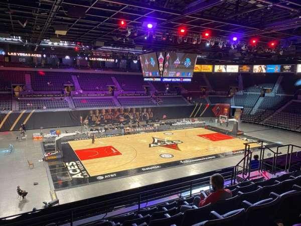 Michelob Ultra Arena, sección: 205, fila: G, asiento: 8