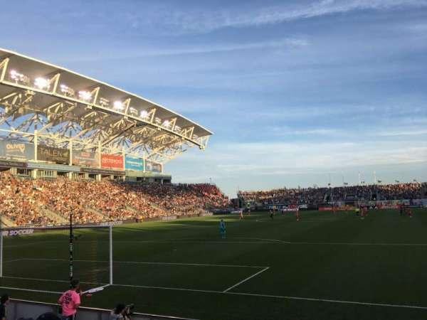 talen energy stadium, sección: 116, fila: E, asiento: 1
