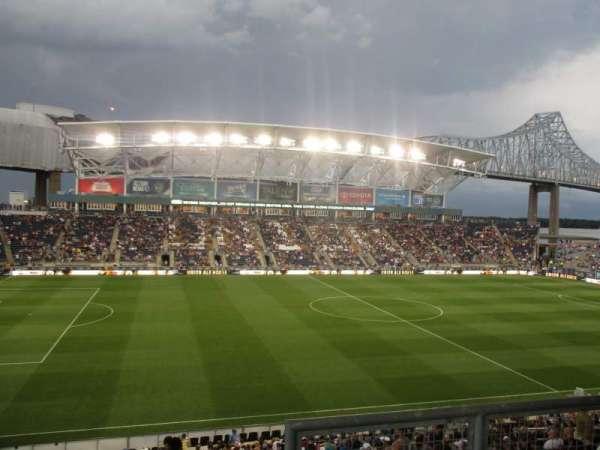 talen energy stadium, sección: 310, fila: 2, asiento: 1