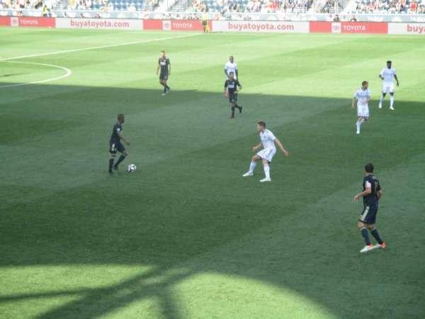 Talen Energy Stadium, sección: 103, fila: S, asiento: 15
