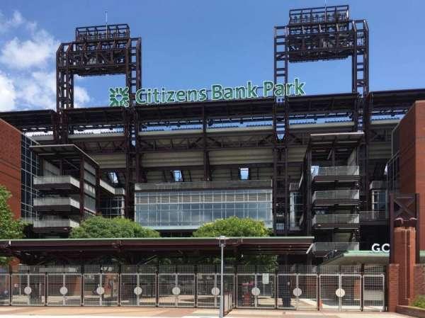 Citizens Bank Park, sección: 3rd Base Gate