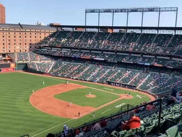 Oriole Park at Camden Yards, sección: 368, fila: 23, asiento: 8