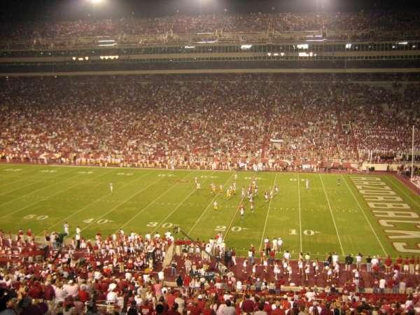 Razorback Stadium, sección: 102, fila: 38, asiento: 5-6