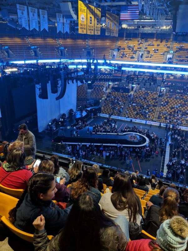 TD Garden, sección: BAL 316, fila: 13, asiento: 13