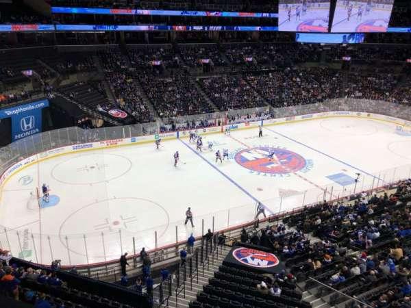 Barclays Center, sección: 228, fila: 1, asiento: 8