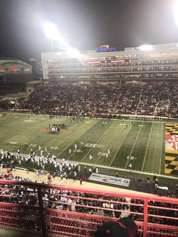 Maryland Stadium, sección: 310, fila: C, asiento: 10