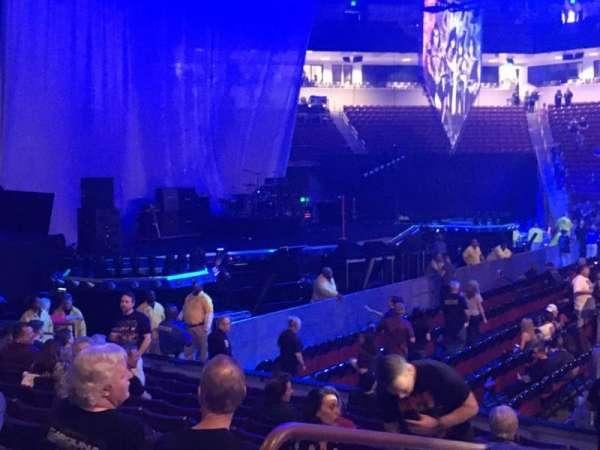 Colonial Life Arena, sección: 105, fila: 11, asiento: 19