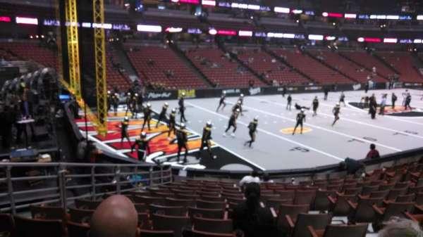 Honda Center, sección: 212, fila: P, asiento: 8