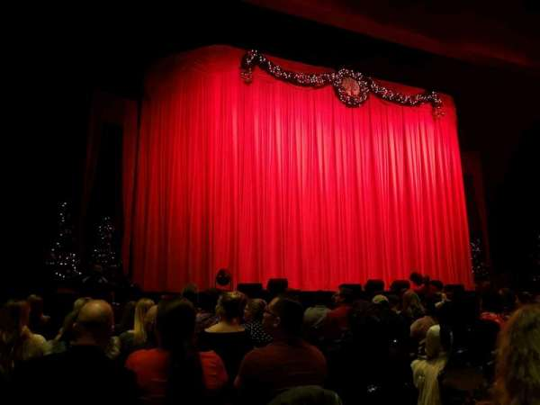 The Theater at MGM National Harbor, sección: 3, fila: K, asiento: 4