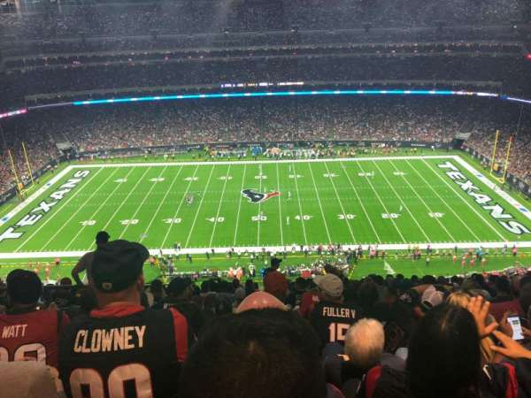 NRG Stadium, sección: 608, fila: P, asiento: 22