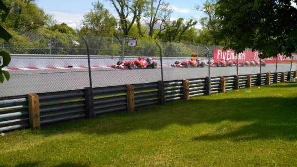 Circuit Gilles Villeneuve, sección: ga