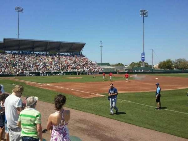 Hammond Stadium, sección: Lawn
