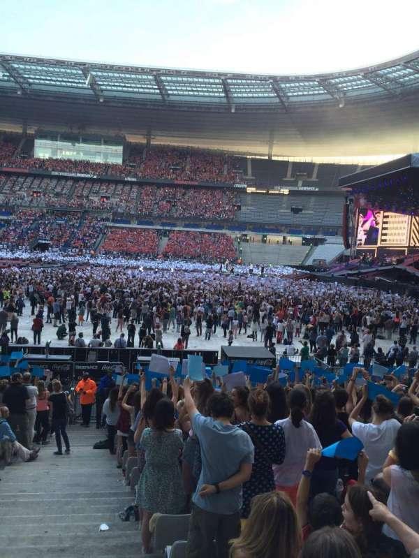Stade De France, sección: G8, fila: 21, asiento: 36