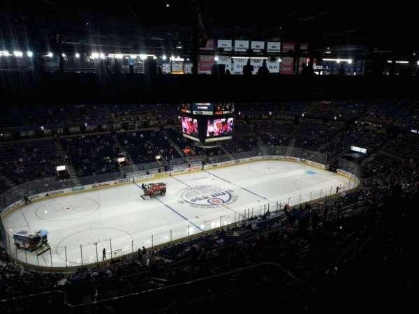 Northlands Coliseum, sección: 304, fila: 48, asiento: 15
