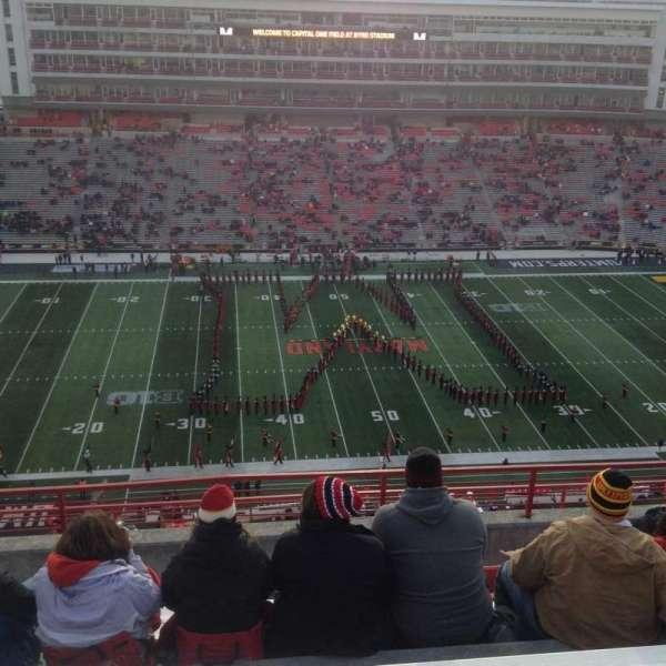 Maryland Stadium, sección: 305, fila: N, asiento: 13