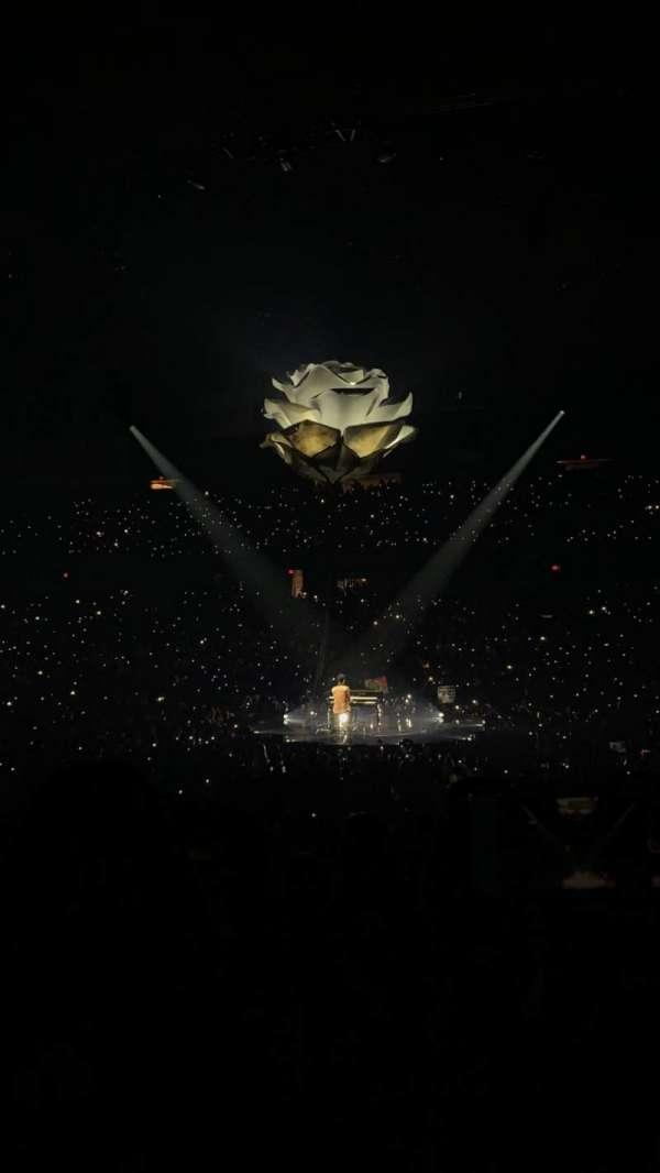 Allstate Arena, sección: 101, fila: M, asiento: 13