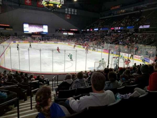 Van Andel Arena, sección: 102, fila: M, asiento: 10
