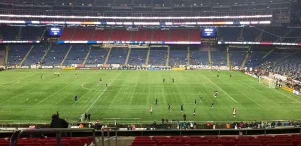 Gillette Stadium, sección: Cl8, fila: 10, asiento: 16