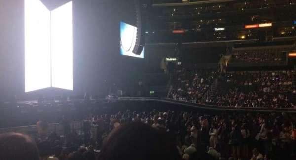 Staples Center, sección: 112, fila: 11, asiento: 3