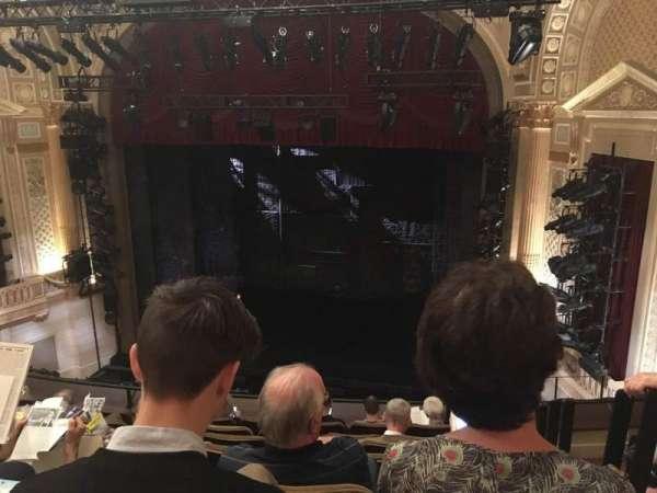 Samuel J. Friedman Theatre, sección: Mezzanine C, fila: E, asiento: 120