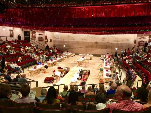 Circle in the Square Theatre, sección: Orchestra 100 (Even), fila: J, asiento: 110