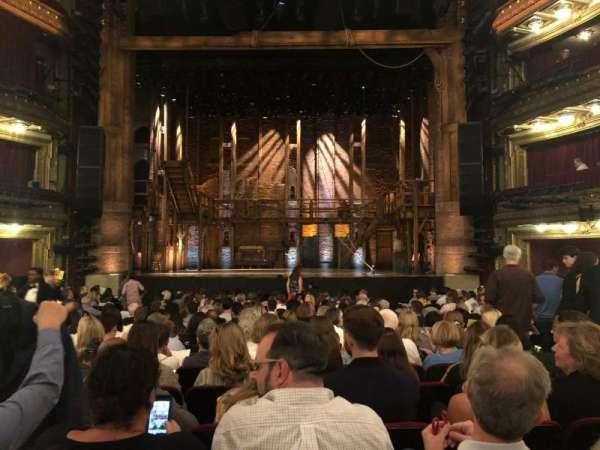 CIBC Theatre, sección: Orchestra C, fila: T, asiento: 111