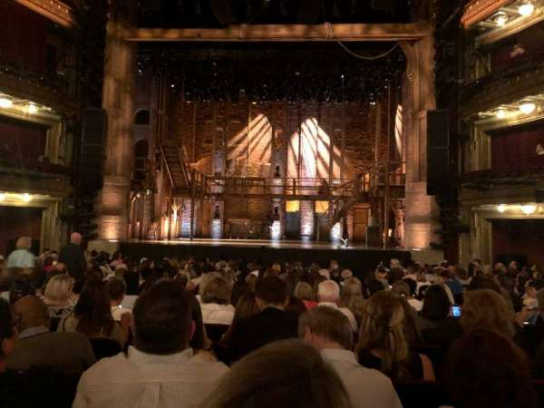 CIBC Theatre, sección: Orchestra C, fila: T, asiento: 110