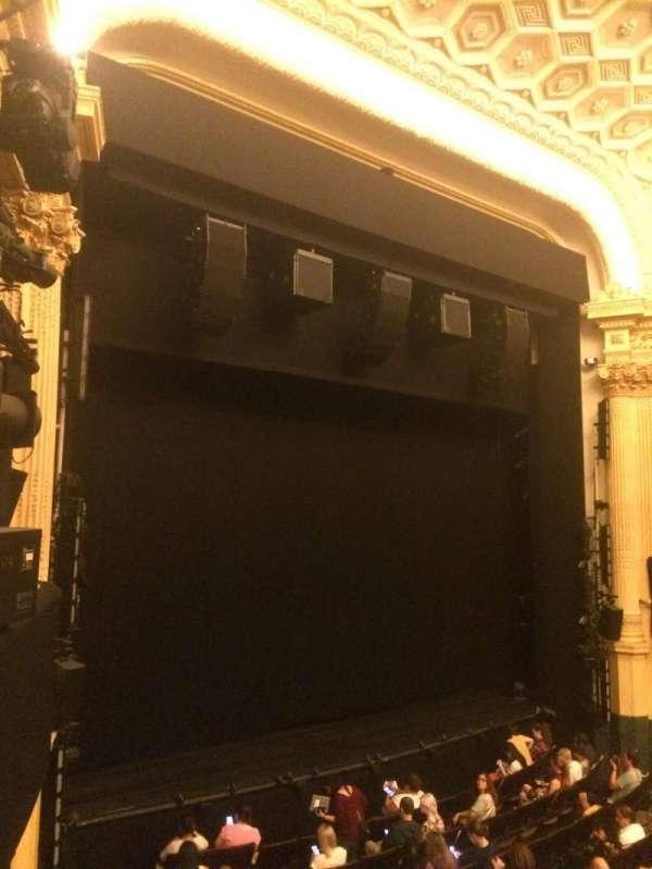 Hudson Theatre, sección: Dress Circle L, fila: A, asiento: 15