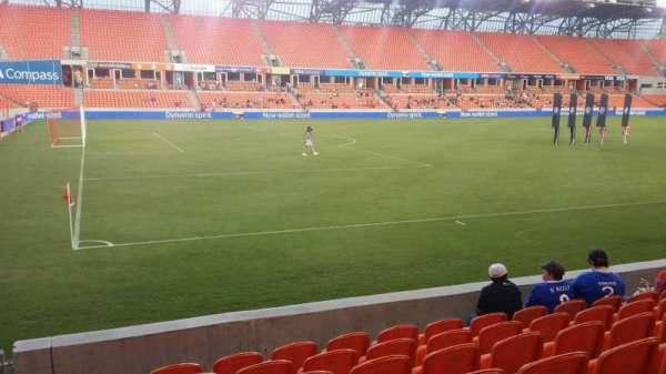 BBVA Stadium, sección: 109, fila: g, asiento: 28