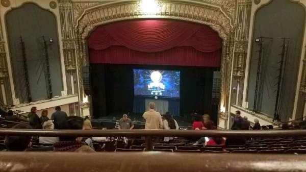 Golden Gate Theatre, sección: Balcony RC, fila: A, asiento: 124