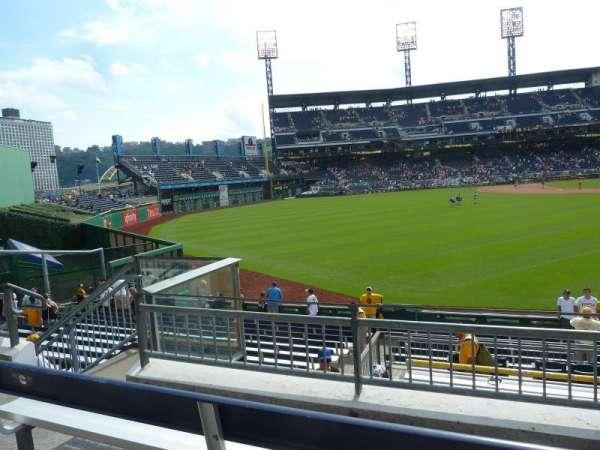 PNC Park, sección: 237, fila: C, asiento: 19