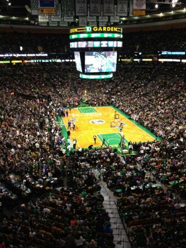 TD Garden, sección: Bal 309, fila: 1, asiento: 8