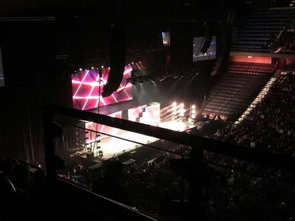 Mohegan Sun Arena, sección: 116, fila: H, asiento: 21