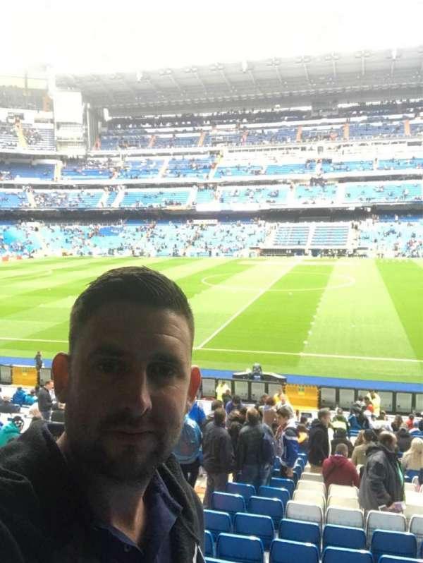 Santiago Bernabéu Stadium, sección: 200, fila: 3, asiento: 36