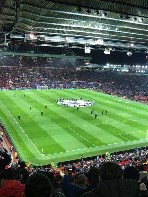Old Trafford, sección: Nw, fila: HH, asiento: 7