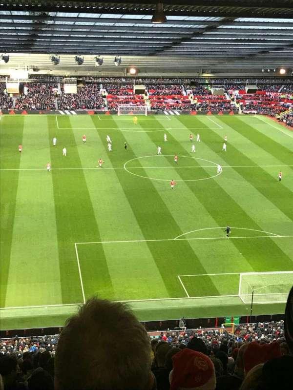 Old Trafford, sección: W3102, fila: 34, asiento: 154