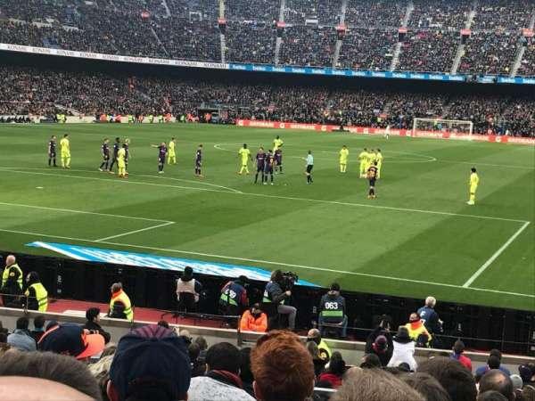 Camp Nou, sección: Nike Goal, fila: 30, asiento: 35