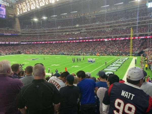 NRG Stadium, sección: 122, fila: X, asiento: 1