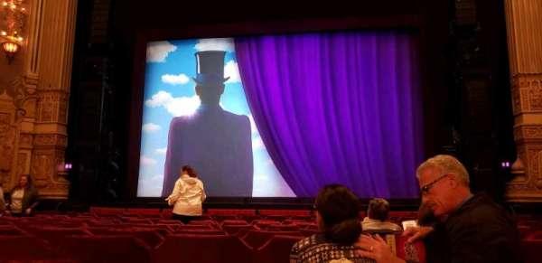 Oriental Theatre, sección: Orch C, fila: N, asiento: 112
