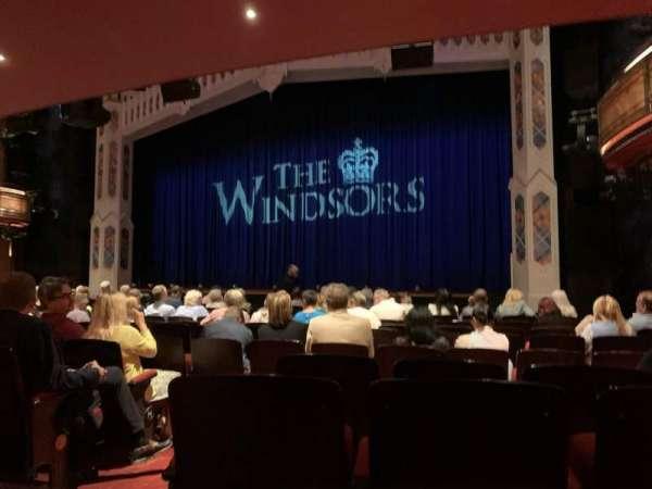 Princess of Wales Theatre, sección: Stalls, fila: M, asiento: 11