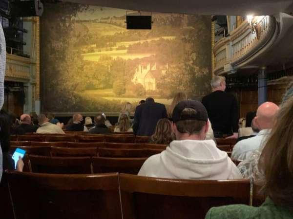 Harold Pinter Theatre, sección: Stalls, fila: O, asiento: 4