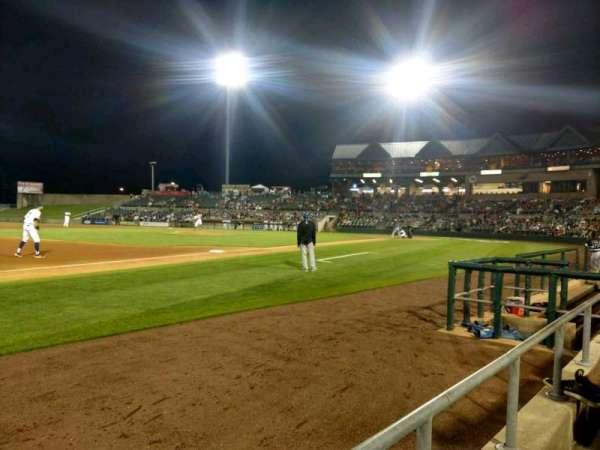 TD Bank Ballpark, sección: 120, fila: A, asiento: 3