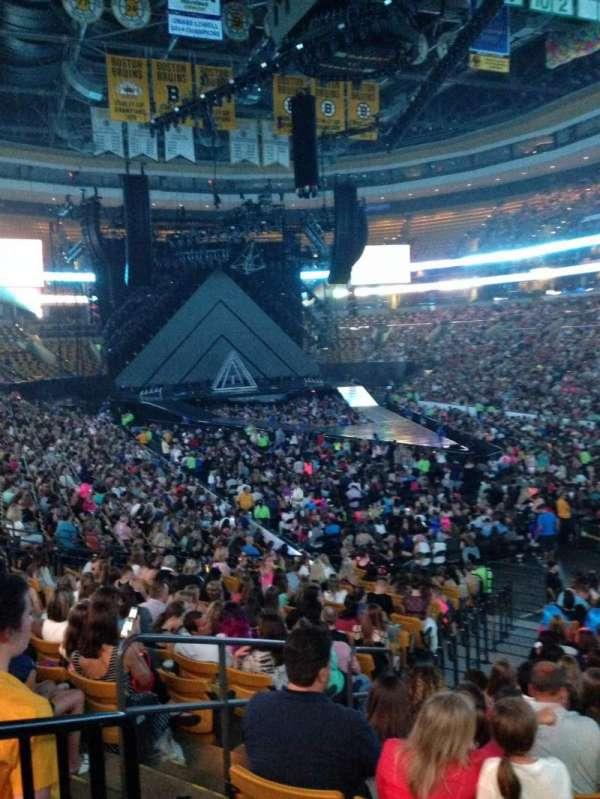 TD Garden, sección: Loge 8, fila: 19, asiento: 7