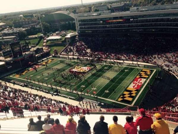 Maryland Stadium, sección: 312, fila: KK, asiento: 27
