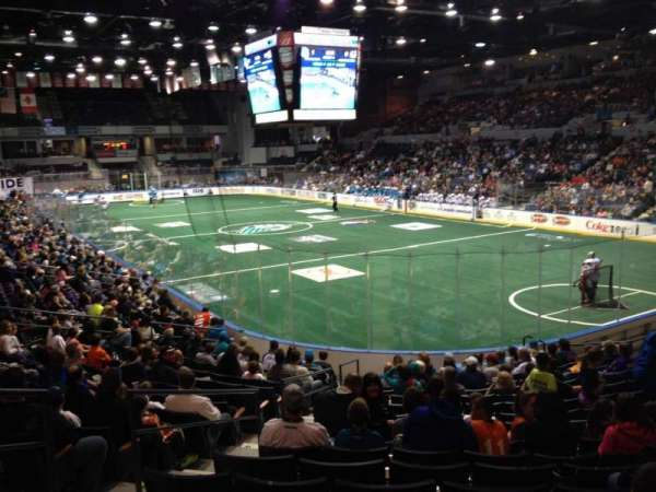 Blue Cross Arena, sección: 113, fila: Q, asiento: 23