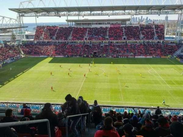 BMO Field, sección: 206, fila: 18, asiento: 30