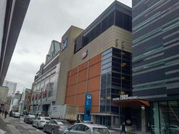 Centre Bell, sección: exterior