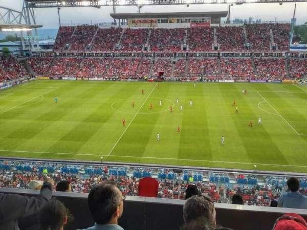 BMO Field, sección: 206, fila: 8, asiento: 24