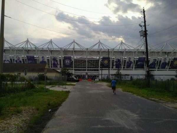 Orlando City Stadium, sección: exterior